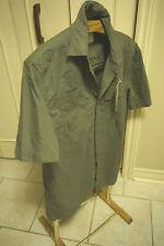 Field And Stream 1871 Button Down Shirt Short Sleeve hunting green khaki XL NWT