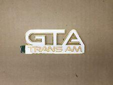 1985-1990 Pontiac Trans AM GTA New Fender Emblem