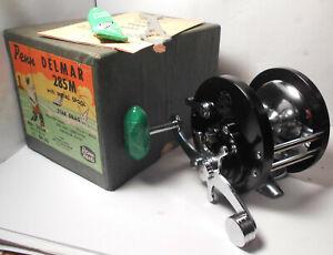 Vintage PENN Reels DELMAR No. 285 w. BOX Saltwater Conventional Fishing Reel