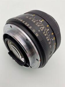 Leica Leitz Wetzlar Summilux R 1,4/50   Germany Lens Kamera Objektiv Tele Zoom
