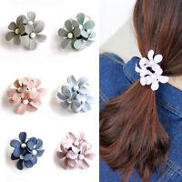 Filles Corde Élastique Fleur de Perle Unique Accessoires pour Cheveux