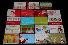 19 Collectible Gift Card Burlington Coat Factory Store Winter Lot No Value <2010