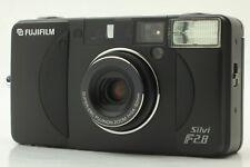 【 RARE!! Unused 】 Fuji Fujifilm Silvi f2.8 Black 35mm Film Camera From JAPAN 375
