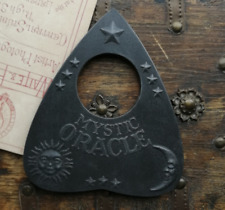 Large Planchette featuring Sun, Moon & Stars with Mystic Oracle Text, For Ouija