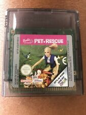 Barbie Pet Rescue-Nintendo Game Boy Color GBC Panier Seulement 100% Authentique