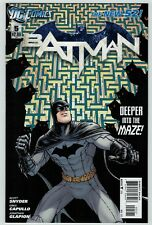 Batman 5 New 52 1st print Burnham variant cover Scott Synder VF- 2012