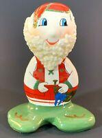 Porcelana Santa from Traditions N Stone 92-93 Original Christmas Figurine Signed
