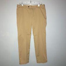Brooks Brothers Mens sz W35 L30 Advantage Chino Milano Brown  Pants