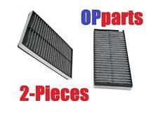 Set of 2 Charcoal Cabin Air Filter For BMW 525I 530I M5 M6 650I 550I 545I NEW