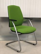 7X BRAND NEW DESIGNER LIME GREEN/SILVER FRAME/OFFICE/HOME MEETING/COMPUTER CHAIR