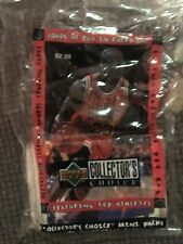 97/98 Collector's Choice Michael Jordan sealed mini packs