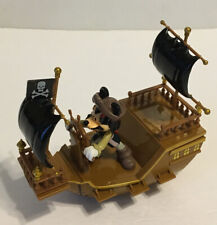 New listing Disney Parks Caribbean Pirate Ship w/ Mickey Mouse as Jack Sparrow Pullback Toy