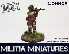 28mm Modern Wargames / Roleplaying - Militia Miniatures - Connor