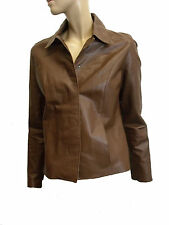 Marks and Spencer Women's Leather Hip Length Coats & Jackets