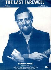SHEET MUSIC THE LAST FAREWELL : ROGER WHITTAKER R A WEBSTER