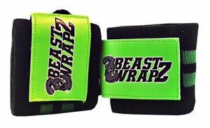 BEAST WRAPZ - Heavy Duty Weight Lifting Wrist Wraps - Crossfit or Gym Workout