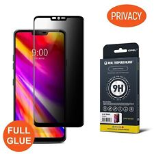 GPEL® LG G7 ThinQ Privacy Anti-spy Screen Protector, Full Glue, Case Friendly