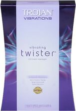 TROJAN TWISTER Personal Vibrating Intimate Massager Vibrator Vibrations Silicone