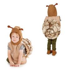 KIDS CHILDRENS CHILD SNAIL MINIBEAST ANIMAL TABARD FANCY DRESS COSTUME AGE 3-7