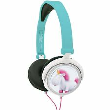 DESPICABLE ME FLUFFY UNICORN STEREO KIDS HEADPHONES GIFT