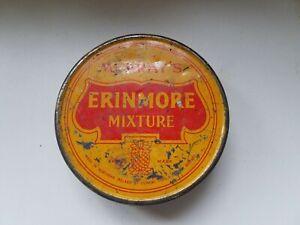 Vintage Round Cigarette Tobacco Tin Murray's Erinmore Mixture Belfast