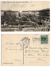 Torino - viaggiata per la Francia  nel 1911 - 2273 E