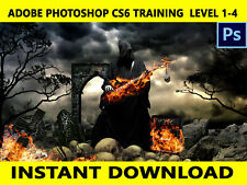 Adobe Photoshop CS6 Training Tutorial Over 35+ Hours video Download