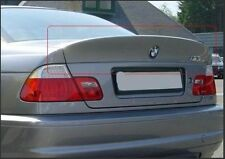 BMW e46 M3 CSL style boot lid spoiler, ducktail, rear boot addon, fits coupe