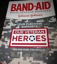 American Heroe Band-Aids 20 In Pack Three Different pictures USA
