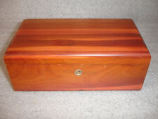 """Old Vtg Lane Cedar Wood Chest Box The """"Three"""" Farmer Markets Sioux Falls, SD"""