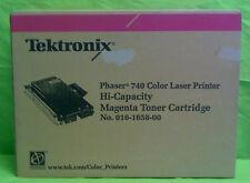 Tektronix 740  Laser Magenta Toner Cartridge No. 016-1658-00 Neuware aus Bulkver