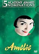 AMELIE - Audrey Tautou (DVD, 2002, 2-Disc Set, Special Edition)  SEALED / NEW !