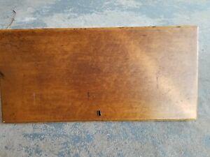 Vintage Drop Down Leaf Writing Desk Door With Hardware - No Key