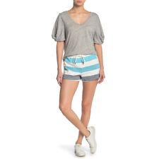 Splendid X Gray Malin Shore Line Shorts, shore Stripe, X-Large