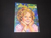 Shirley Temple Paper Doll Book UNCUT Vintage Whitman 1976  (k393)