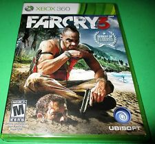 Far Cry 3 Microsoft Xbox 360 *Factory Sealed! *Free Shipping!