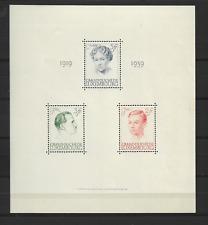 1939 MNH Luxemburg, mi block 3, postfris**