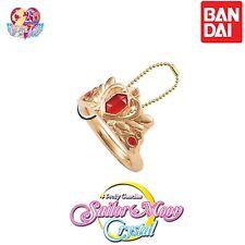 GASHAPON BANDAI Sailor Moon Die-cast Ring Charm Keychain  (Serenity tiara)