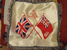 Canada Canadian Armed Forces WW1 WW2 RCA Royal Canadian Artillery pillow case