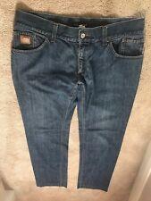 DOLCE and Gabbana Uomini Jeans Taglia 52 100% Autentico con placca