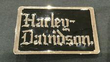 Harley-Davidson ® Herren Night Stalker Schwarz/Chrom Gürtelschnalle 97796-07v