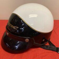 Vintage KBC TK 400S  DOT Fiberglass MOTORCYCLE HELMET SIZE Small