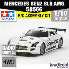 58566 TAMIYA MERCEDES BENZ SLS AMG GT3 TT-02 1/10th R/C RADIO CONTROL 1/10 CAR