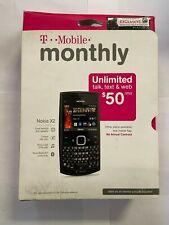 T-Mobile Nokia X Series X2 Slate Grey Cellular Phone