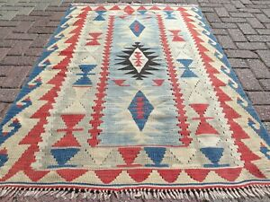 "Teppiche, Turkish Kilims, Small Rug, Modern Rug, Carpet, Area Rug, Kelim 43""X63"""