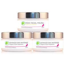 2 x Skin Whitening & Lightening Bleaching Cream  Face Body + *FREE Facial Scrub*