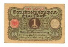 Germany - Weimar Republic 1920 - 1 Mark Banknote - #193.452530