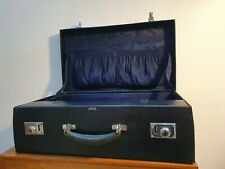 Vintage Asprey London suitcase / travel case with toiletry or vanity compartment