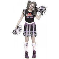 Zombie Fearleader Costume Halloween Fancy Dress