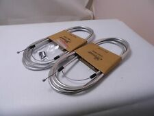 2 x NEW Premier Silver  Coloured Bike Gear Cable    PCG2002